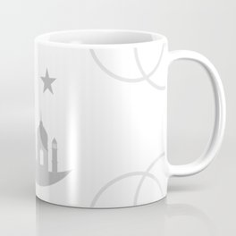 Mosque and crescent moon- symbol of the religion of Islam Coffee Mug