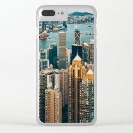 Golden Harbour Clear iPhone Case