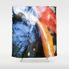Koi Abstraction 004 Shower Curtain
