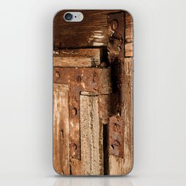 LOST PLACES - dusty rusty hinge iPhone Skin