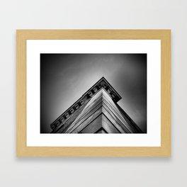 Corner Framed Art Print