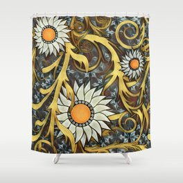The Golds of Autumn Shower Curtain