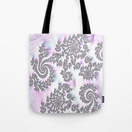 Classy Purple Fractal Art Tote Bag