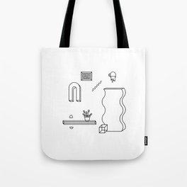 THE ODYSSEY [WHITE] Tote Bag