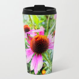 Coneflowers Travel Mug