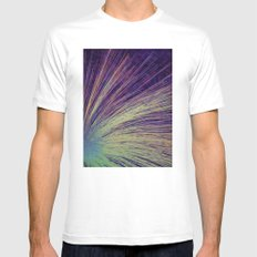 Fireworks White MEDIUM Mens Fitted Tee