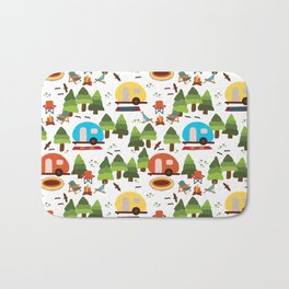 Camper Bath Mats For Any Bathroom Decor Style Society6