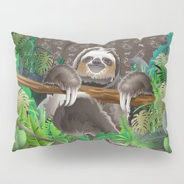 The Sloth (The Spiritual Meaning) Pillow Sham