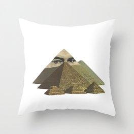 Peeramid Throw Pillow