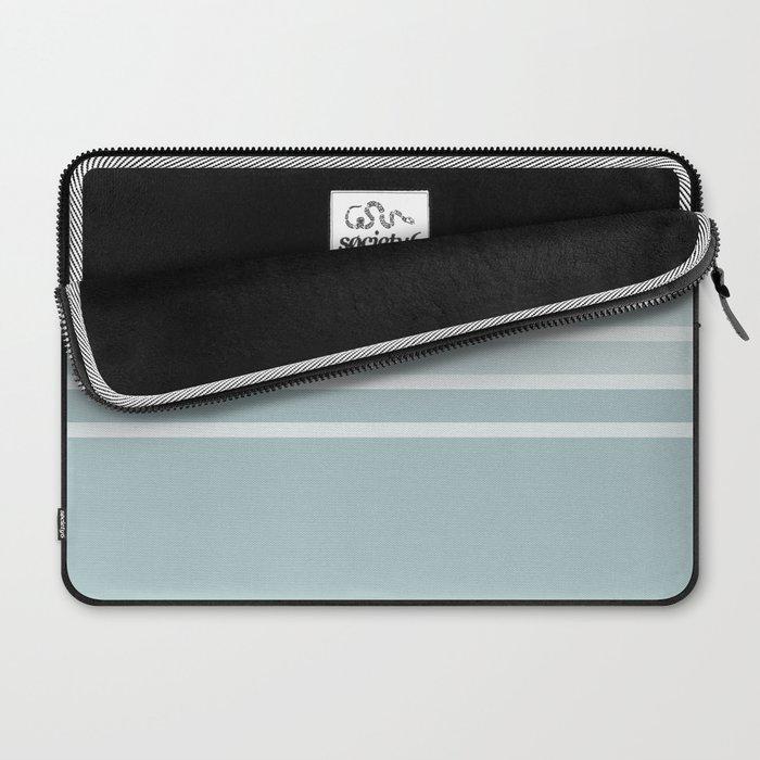 Split 3 Blue Grey Laptop Sleeve