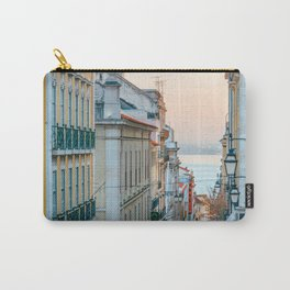 Lisbon at sunset Carry-All Pouch