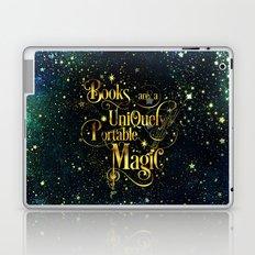 Books Are a Uniquely Portable Magic Laptop & iPad Skin