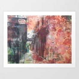 Streets of China Art Print