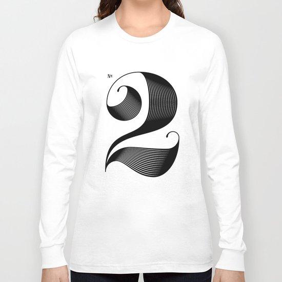 No. 2 Long Sleeve T-shirt