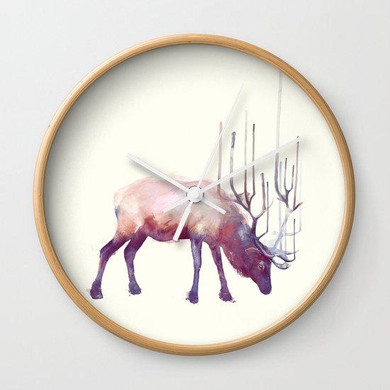 Elk // Solitude Wall Clock
