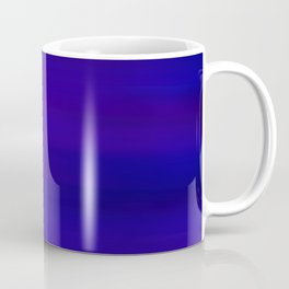 Ultra Violet to Indigo Blue Ombre Coffee Mug
