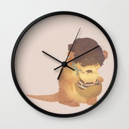 Snuggle Wall Clock