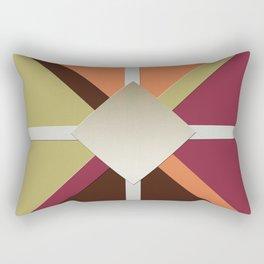 Colors Triangles Rectangular Pillow