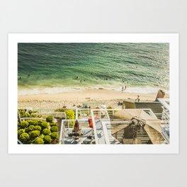 Fun Summer 5525 Laguna Beach Art Print