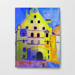 Historisches Gebäude Burg Trausnitz Landshut Metal Print