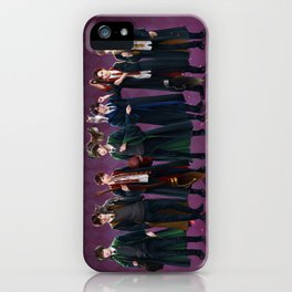 Infinite goes to Hogwarts iPhone Case