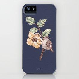 Brown Bird iPhone Case