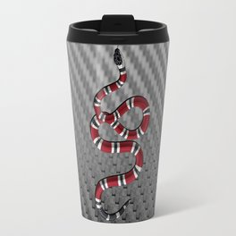 Frame carbon fiber snake Travel Mug