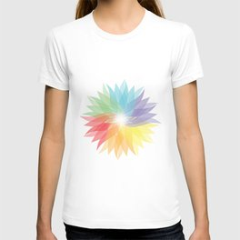 colorful lady T-shirt
