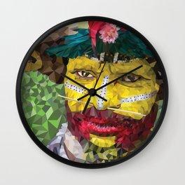 Polygon Art Wall Clock