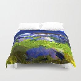 George Bellows Monhegan Island Duvet Cover