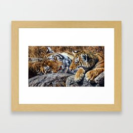 Sleepers by Alan M Hunt Framed Art Print