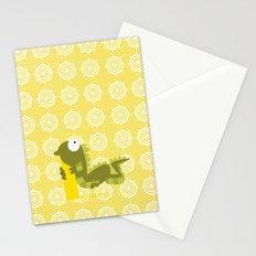 i for iguana Stationery Cards