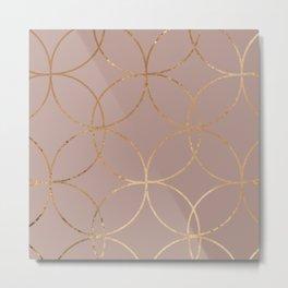 geometric ii x ii Metal Print