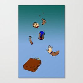 Falling to Pieces Canvas Print