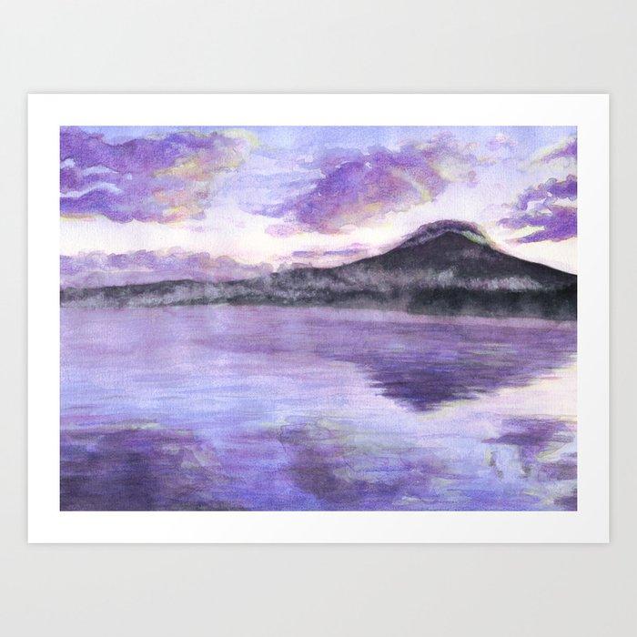 Mount Fuji Kunstdrucke