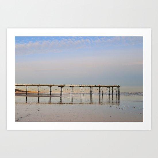 Saltburn by the Sea Art Print
