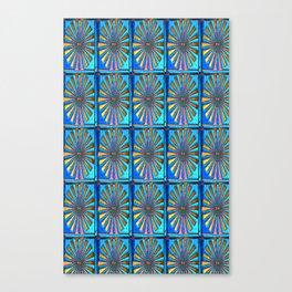 Blue Spectrum Canvas Print
