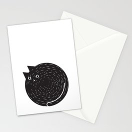 Circle Cat Stationery Cards