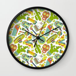 Viva Mexico Wall Clock