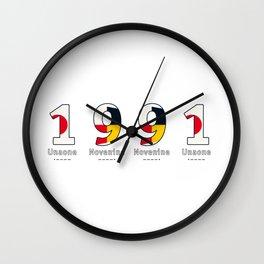 1991 - NAVY - My Year of Birth Wall Clock