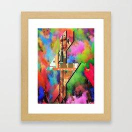 K$ Framed Art Print