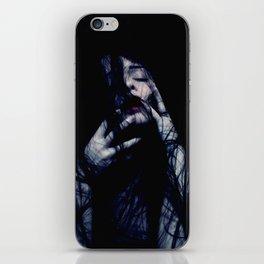 Tendrils - Emotive Self Portrait - long hair woman sensual iPhone Skin