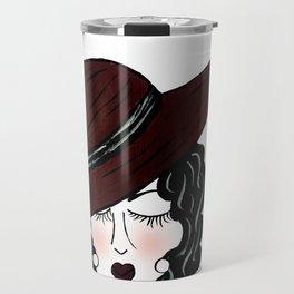 Miss Violet Travel Mug