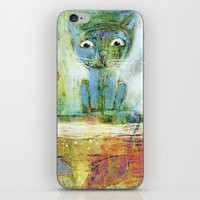 fishing iPhone & iPod Skins featuring fishing by Agnes Laczo