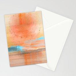 My Heart Is Like Sunshine - Pastel Stationery Cards