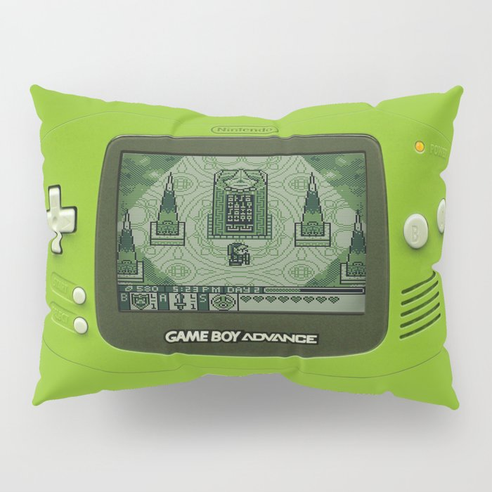 Gameboy Zelda Link Pillow Sham