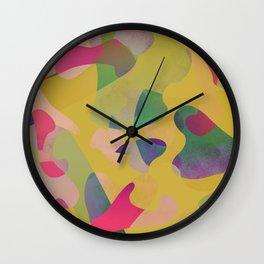 Camouflage XCII Wall Clock