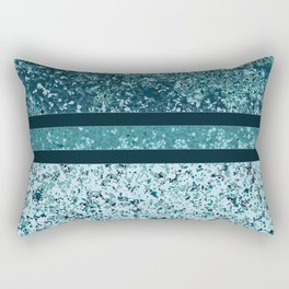 Vintage Terrazzo Aquas Rectangular Pillow