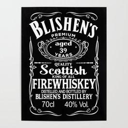 Blishen's Firewhiskey Poster