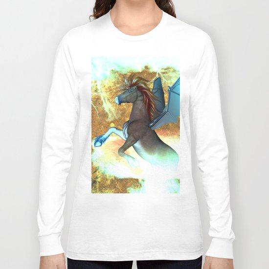 Dark unicorn  Long Sleeve T-shirt